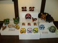 All the masks Minna Dieffenbacher (http://nakupelle.com)has made for our tengu shows