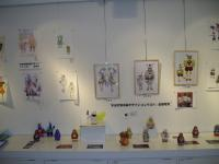 Top three costume designs (in frames) and others, including some decorated tengus