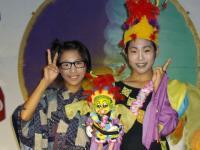Hachibei (Narumi ) and Gu (Tomoko)
