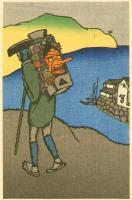 1930's traveller with tengu